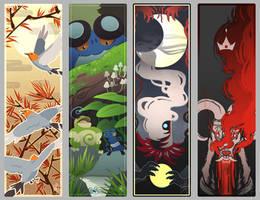 Bookmarks by Lazhuward