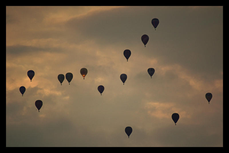 Hot Air Balloons I by kiebitz