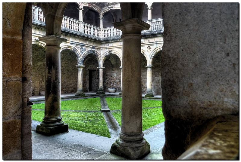 Monastery of Cenarruza II by kiebitz