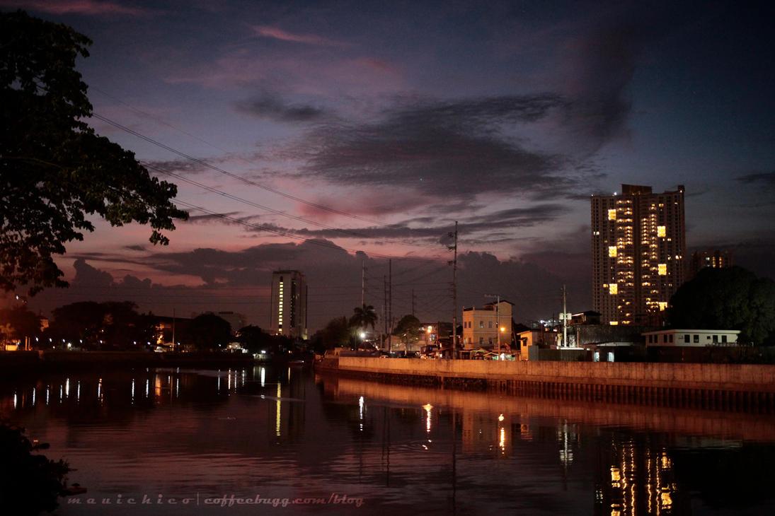 River Promenade by coffeebugg