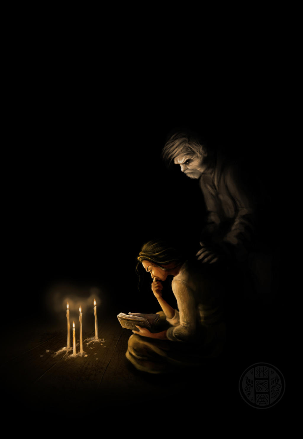 Asenath and Ephraim Waite by Jizebelle