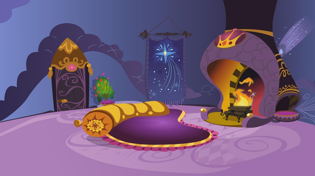 Princess Celestia's Room by tamalesyatole