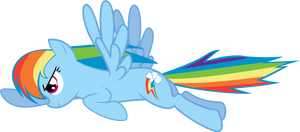 Rainbow Dash from the Opening Sequence V2