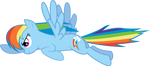 Rainbow Dash from the Opening Sequence V2 by tamalesyatole