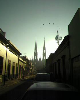Silueta Santuario Guadalupano