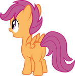 Scootaloo Looks Beyond