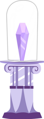 Crystal and Pedestal