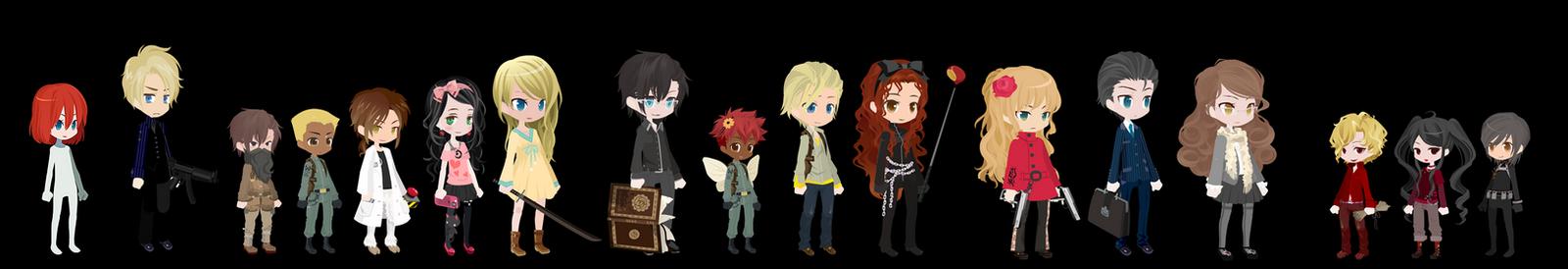 The Viper Main Characters by RenegadeGenius