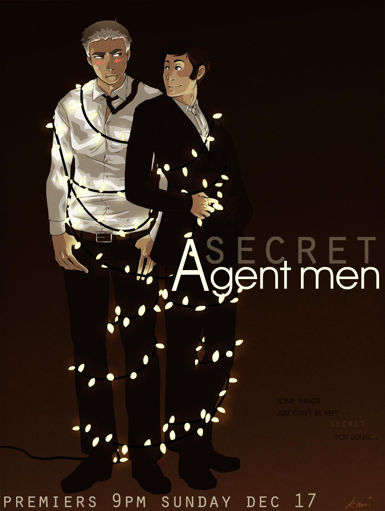 Secret Agent Men by kamidog