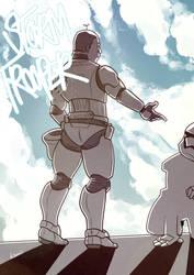 Trooper by kamidog