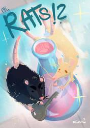 OH RATS by kamidog