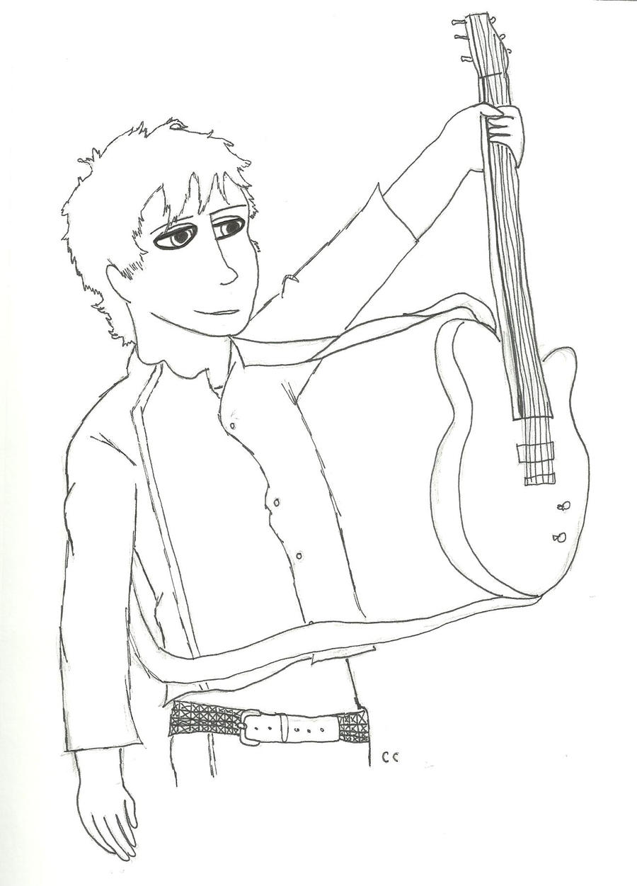 Billie Joe and Guitar by TheSimpsonsFanGirl