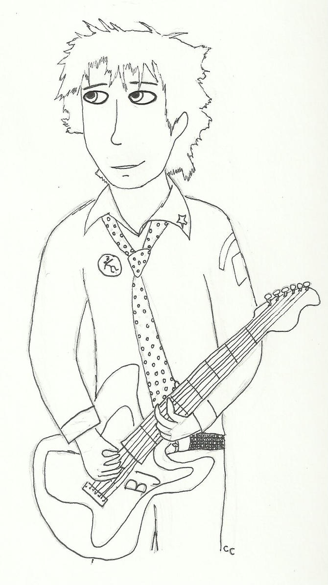 Billie Joe Armstrong by TheSimpsonsFanGirl