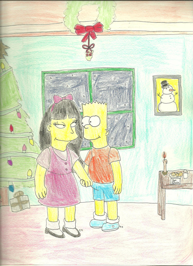 Bart and Jessica's Christmas by TheSimpsonsFanGirl