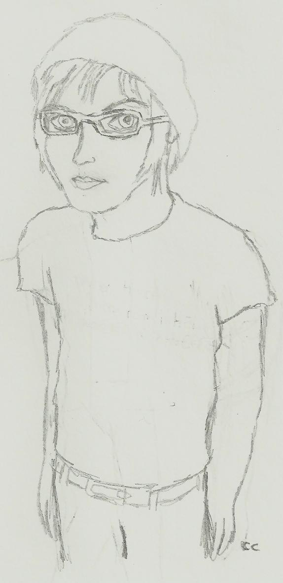 Mikey Way Pencil by TheSimpsonsFanGirl