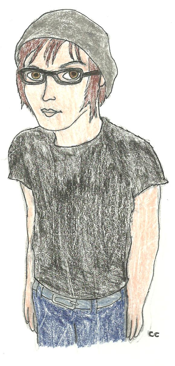 Mikey Way color by TheSimpsonsFanGirl