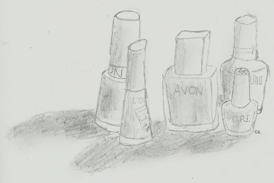 Polish Bottles by TheSimpsonsFanGirl