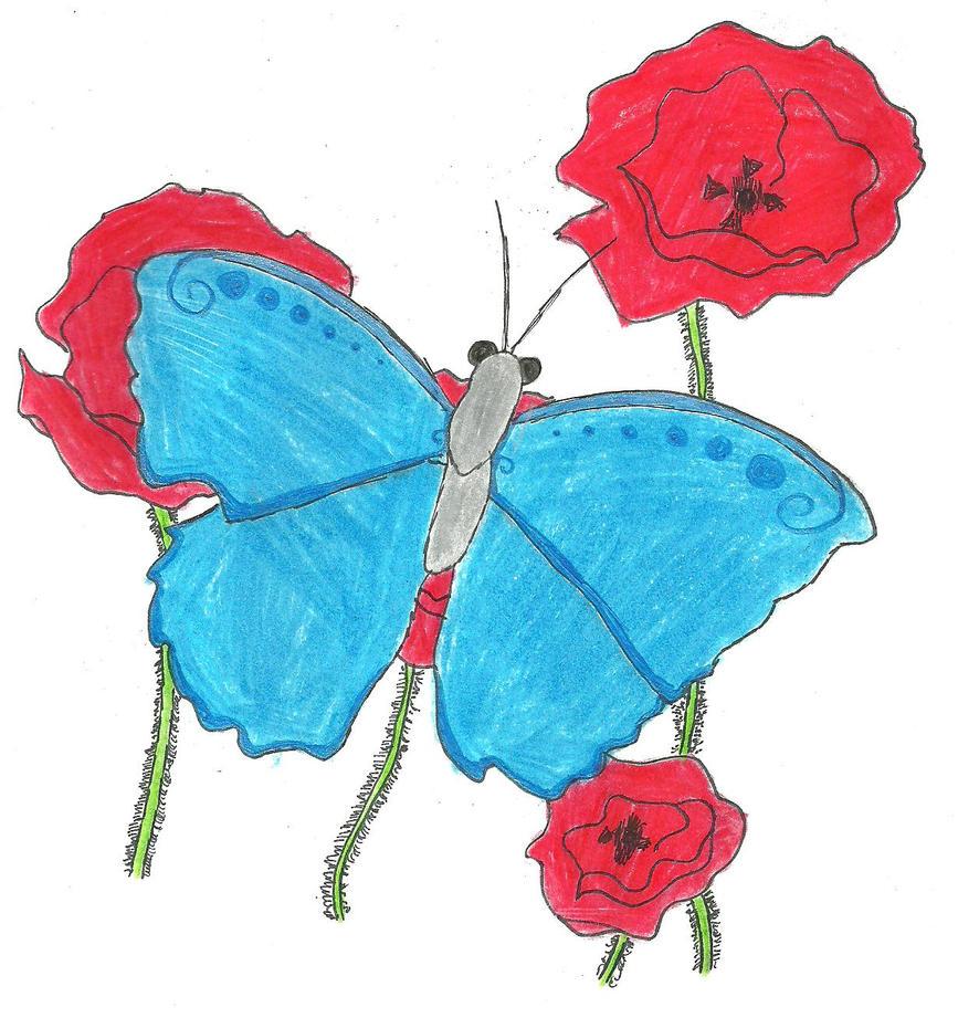 La Papillon dans le Paradis by TheSimpsonsFanGirl