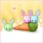 Bunnies Love Carrots 2