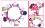 Cupcake Charm Bracele