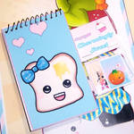 Mrs. Toast Mini Notebook
