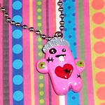 Mrs. Zombie Monster Necklace