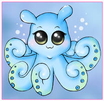 Chibi Octopus Commission by bapity88