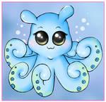 Chibi Octopus Commission