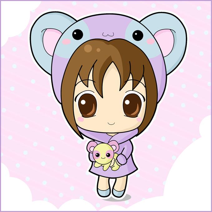 Pin Cute Anime Chibi Cat Girl on Pinterest