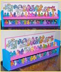 My Little Pony Blind Bag Toy Shelf Updated