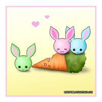 Bunnies Love Carrots... by bapity88