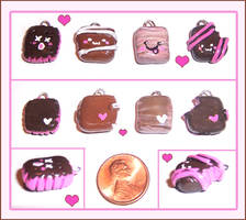 Sweet Candy charms by bapity88