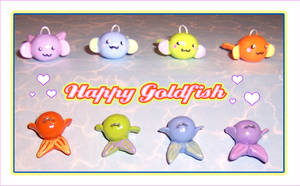 Happy Goldfish Charms by bapity88