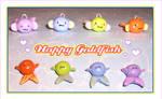 Happy Goldfish Charms