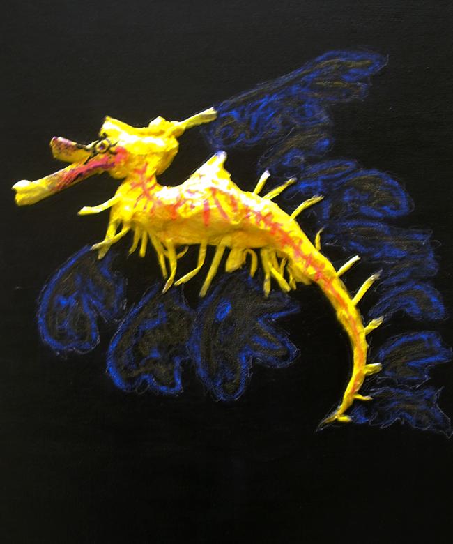 Leafy Sea Dragon by Xepha on DeviantArt