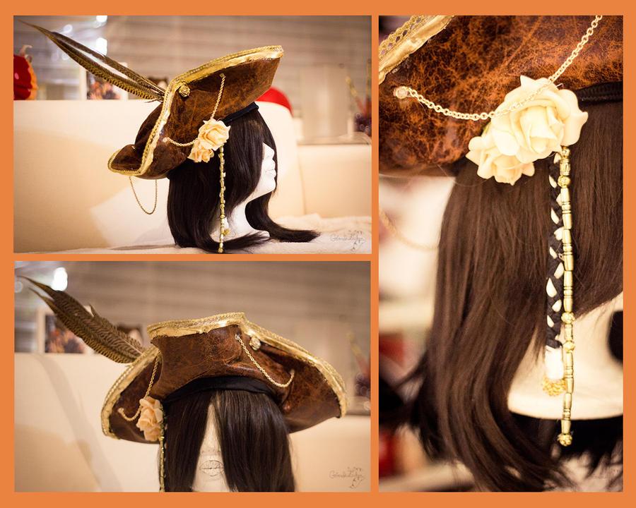 Pirate hat by Saki-Kisu