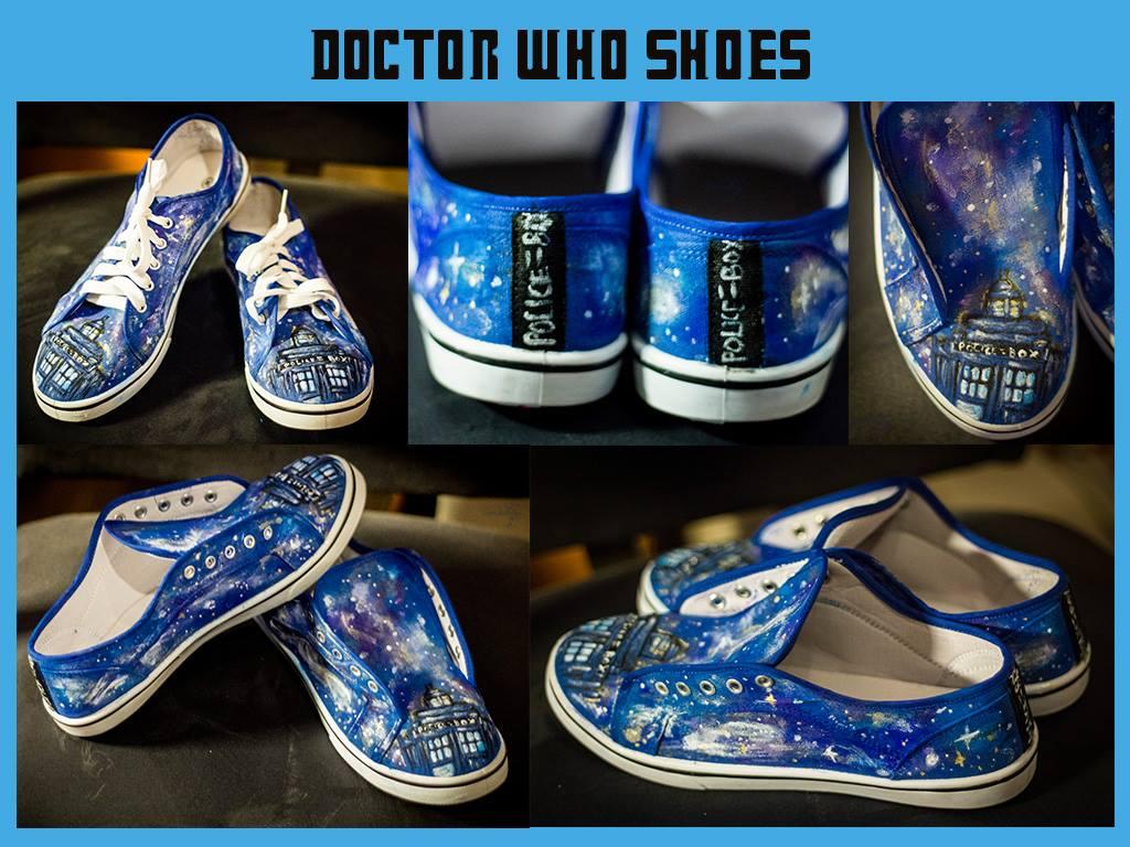Tardis Shoes :D by Saki-Kisu