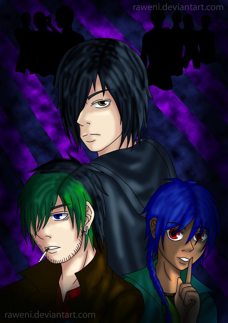 Dark Avenger by Raweni