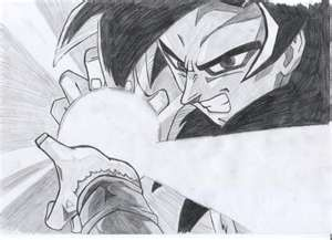 super saiyan 4 kamehameha drawing by superkakarotto on ...