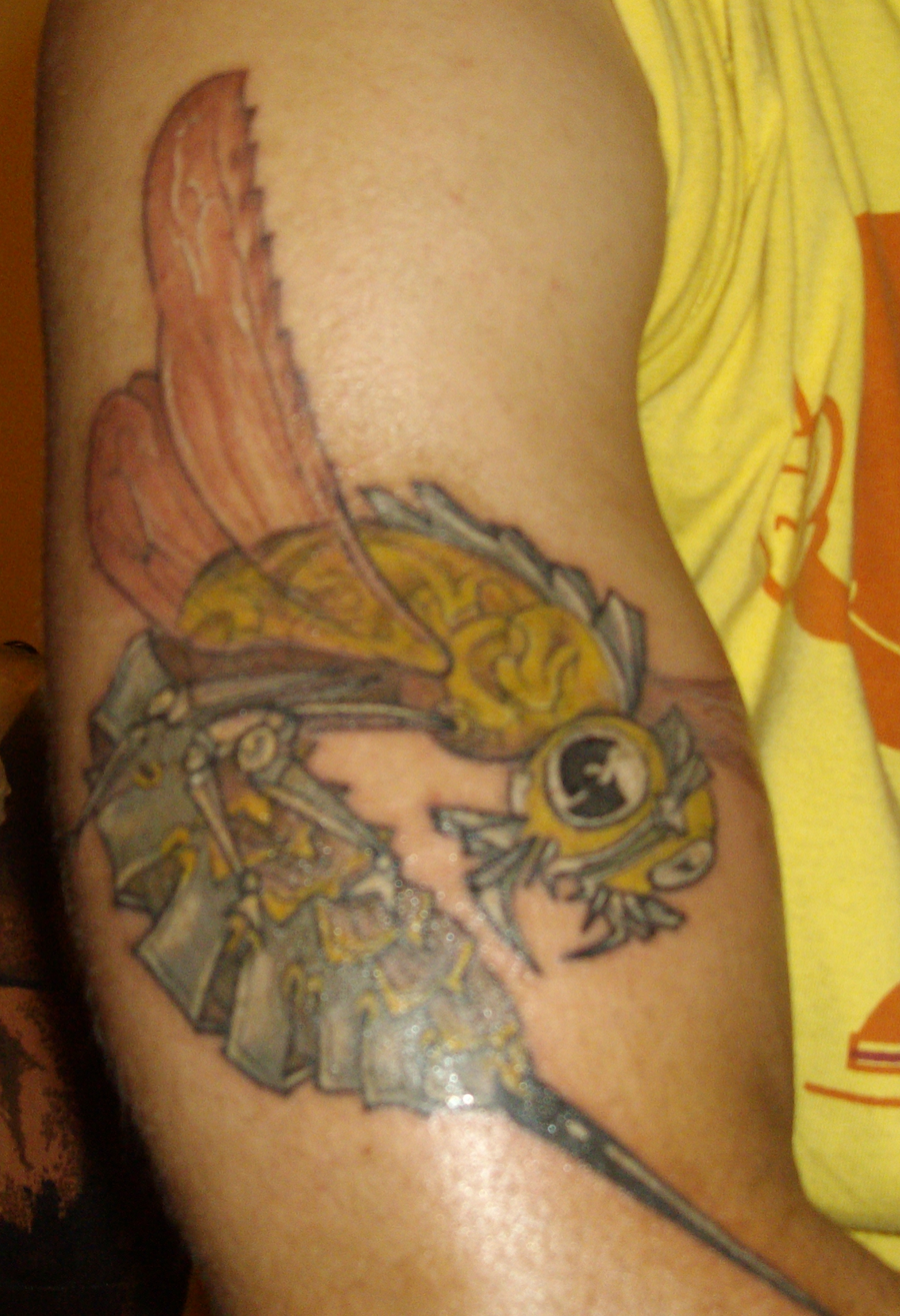 Method man killer bee tattoo - photo#28