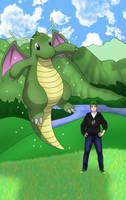 Shiny Dragonite by AusLove