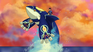 Riding Primal Kyogre by AusLove