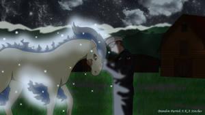 Shiny Ponyta by AusLove