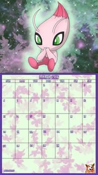 Pokemon 20th Anniversary Calender - March 2016