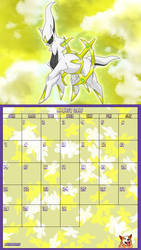 Pokemon 20th Anniversary Calender - August 2016