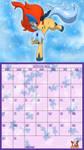 Pokemon 20th Anniversary Calender - October 2016