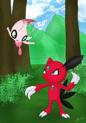 Sneasel and Celebi