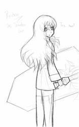 Raiden sketch by Ayurie