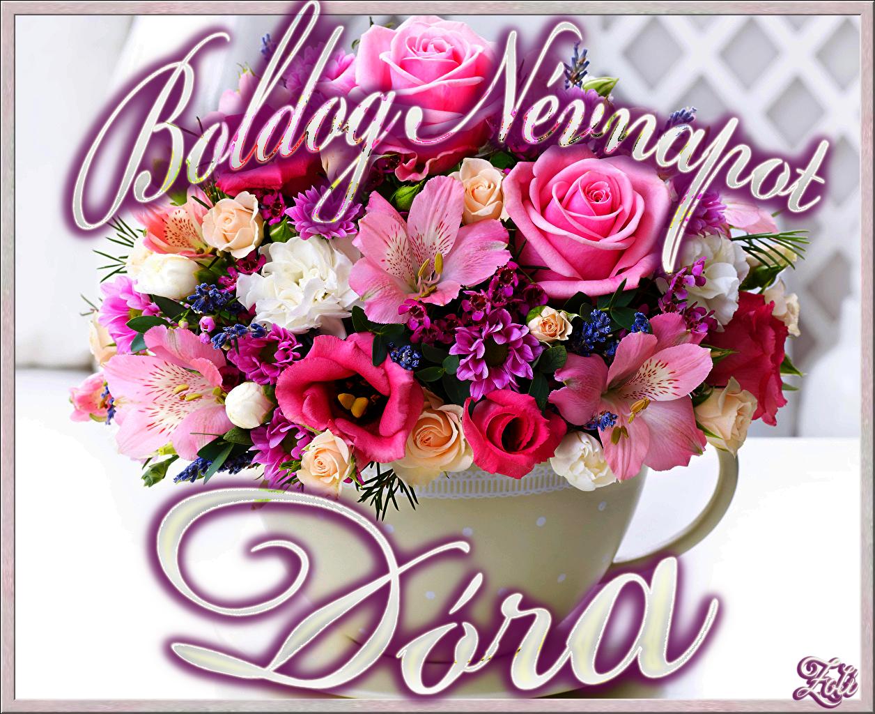 boldog névnapot dóri Boldog Nevnapot Dora by Kaszas7 on DeviantArt boldog névnapot dóri