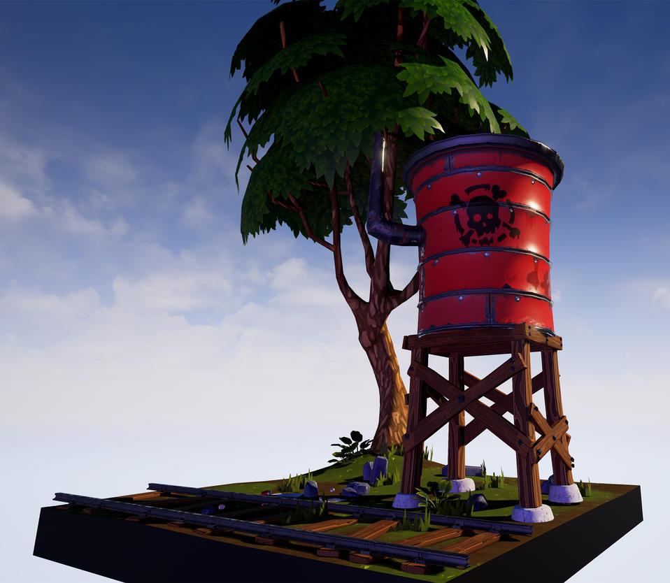 Water Tower by vonkoz